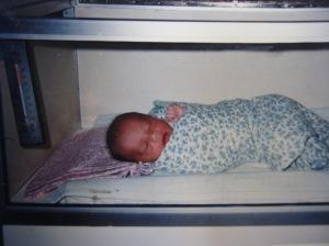 Dikak di inkubator