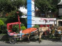 kereta kuda di Bandungan