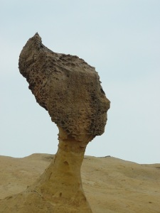 The Queen's head at Yehliu Geopark (by Mr. Wit)