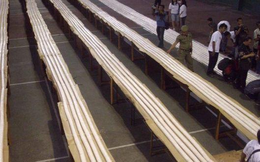 Tempe terpanjang rekor MURI 2012