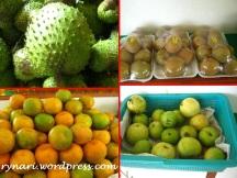 Aneka buah  segar