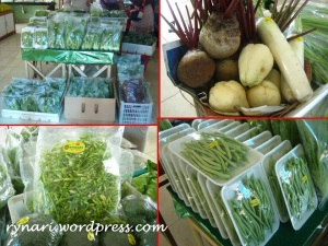 Aneka sayuran segar