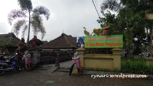 Desa Panglipuran, gerbang yang hangat