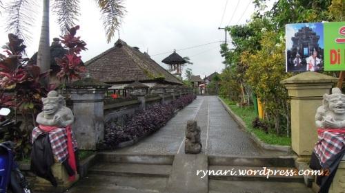 Desa Panglipuran rapi asri