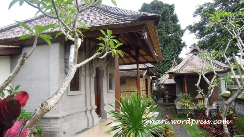 Desa Panglipuran, home stay
