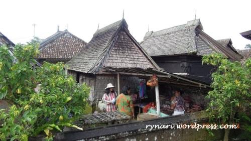 Desa Panglipuran, bangunan rumah bambu