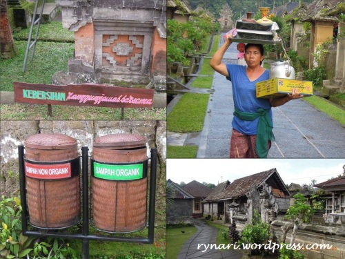 Desa Panglipuran nan bersih