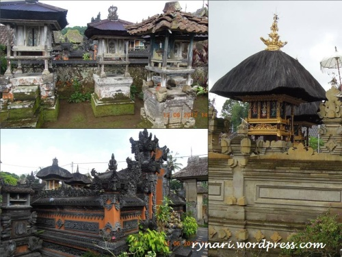 Desa Panglipuran ragam keluarga