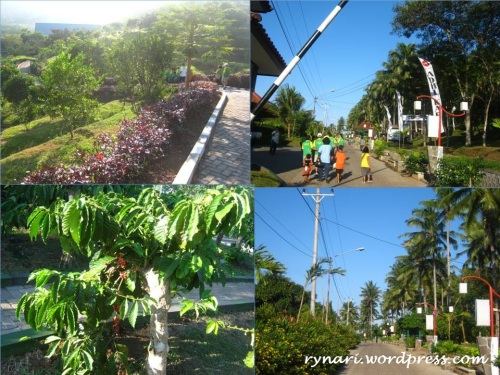 Banaran 9 resort jogging track