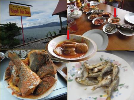 Randang Jariang Singkarak, pangek ikan sasau, ikan bilih