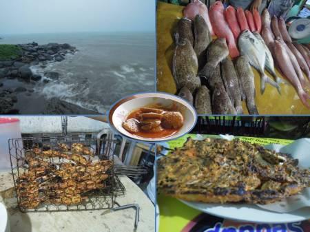 Randang Jariang Taplau, ikan karang bertotol-totol