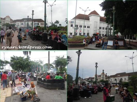 12. Kilometer nol-ruang publik di tengah kota