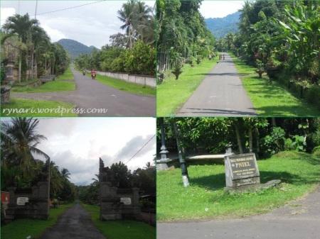 Desa Wisata Blimbingsari rapi asri