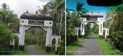 Gerbang Desa Blimbingsari