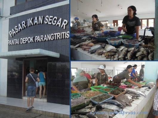Depok Parangtritis Fish Market
