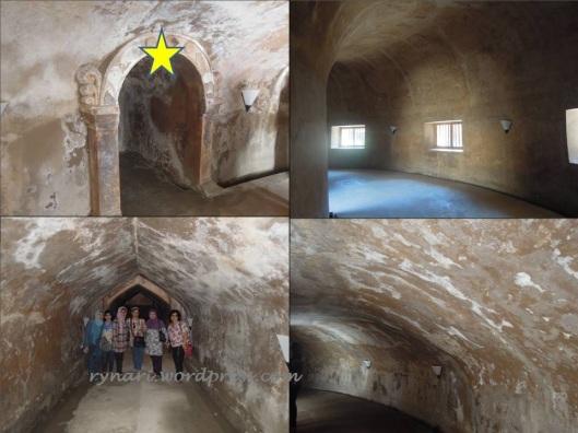Masjid Pendhem 3 Lorong dan ceruk
