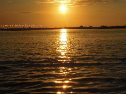 Kala Senja di Tanjung Benoa