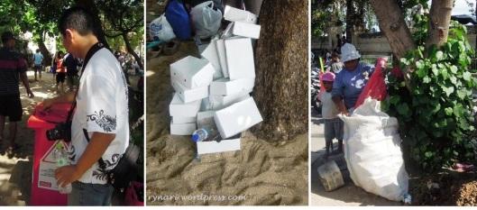 Menjaga kebersihan Pantai Kuta