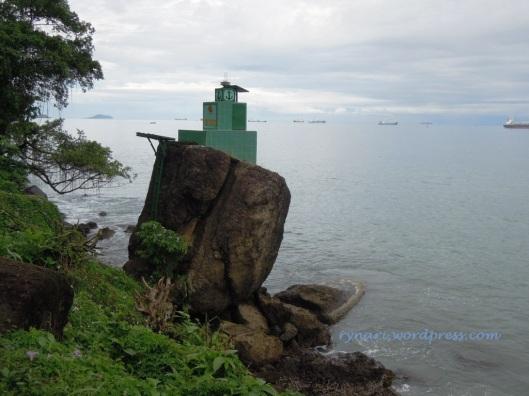 Teluk Bayur dan jangkar