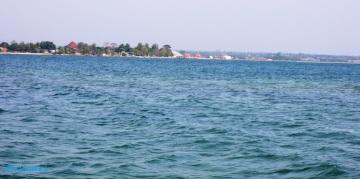 Pantai Kartini dari P. Panjang