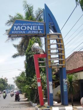 Pusat Kerajinan Monel Kriyan, Jepara