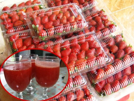 jus strawberry