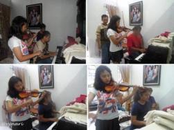Musik menghangatkan keluarga