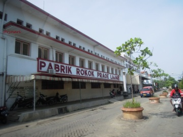 Hidjaoe Moeda di Pabrik Rokok Praoe Lajar