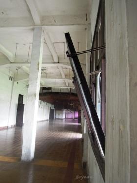 Jendela di Lawang Sewu, bila sirkulasi dan keamanan utamanya