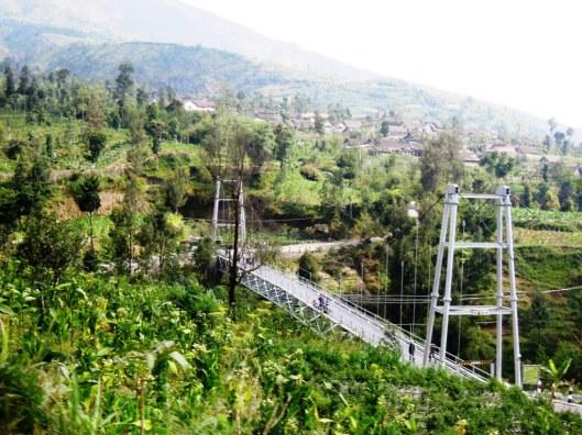 kampung di lereng Merapi