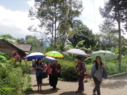 Menuju kebun durian