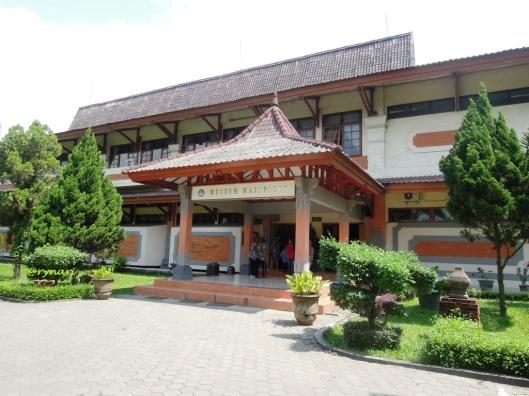 Museum Majapahit tampak depan