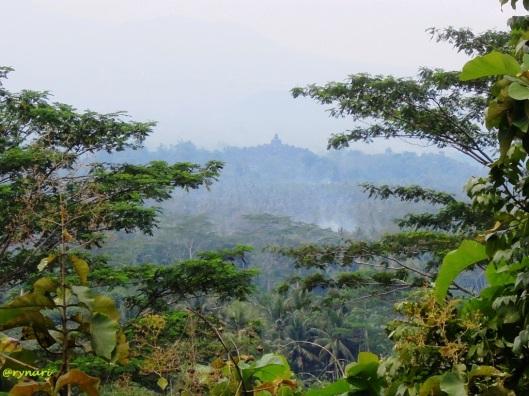 Punthuk Setumbu memandang siluet Boroudur