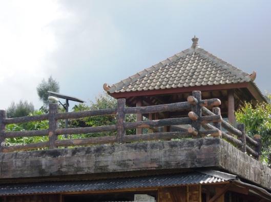 Anjungan panorama Sindoro-Sumbing