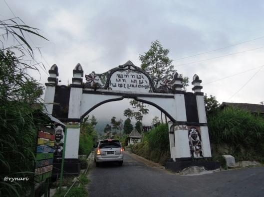 Sugeng rawuh di New Selo kaki Merapi