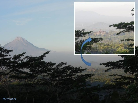 5. Merapi dan Borobudur dari Punthuk Setumbu