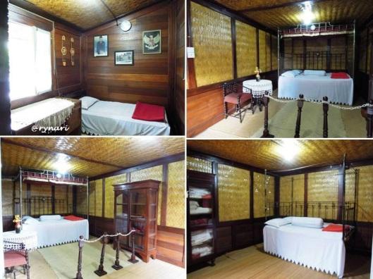4. Renda dan merah putih di kamar tidur lantai 1 Rumah KBH