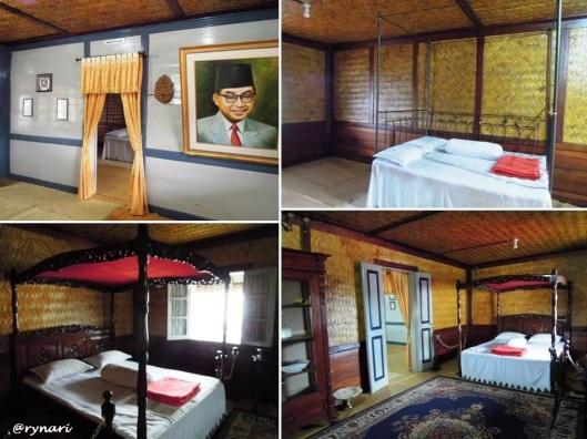 8. Renda dan merah putih di kamar tidur lantai 2 Rumah KBH
