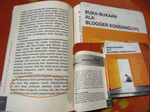 Kroyokan Buku Blogging