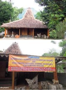 2. Pendapa Rumah Keleta Borobudur
