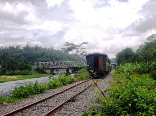 Jembatan Tuntang nadi Ambarawa-Tuntang by KA
