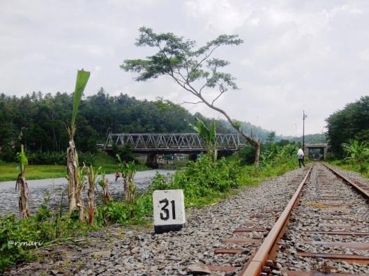 Jembatan Tuntang nadi Solo Semarang