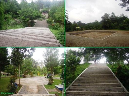 Bermuara di plasa Taman Kota Salatiga