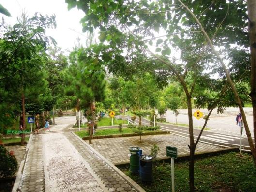 Taman anak di Taman Kota Salatiga