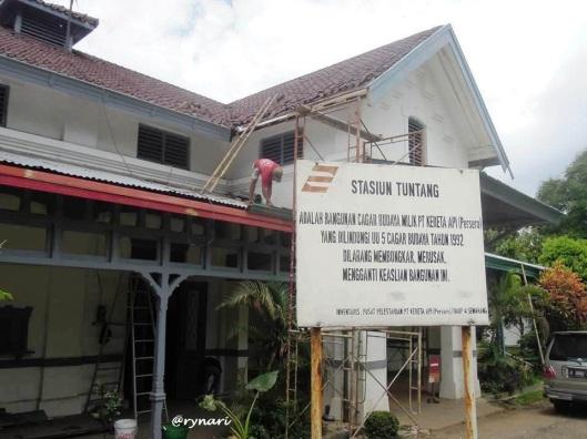 13. Bangunan Cagar Budaya Stasiun Tuntang