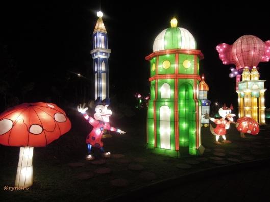 4. Lampion desa jamur