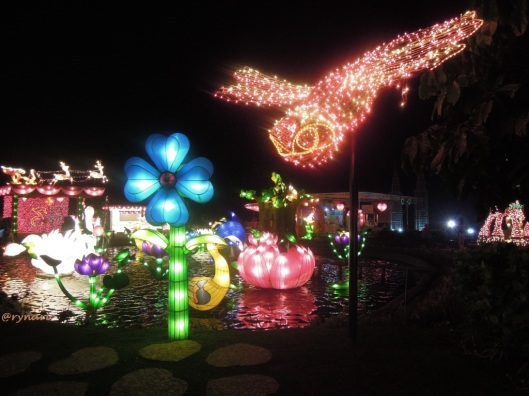 6. Lampion negeri kolam