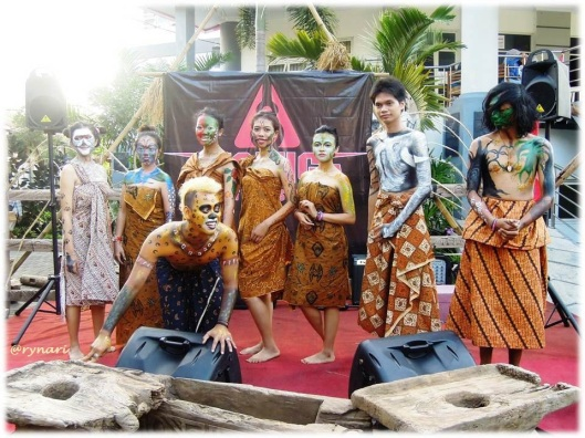 Salatiga how art you-body painting