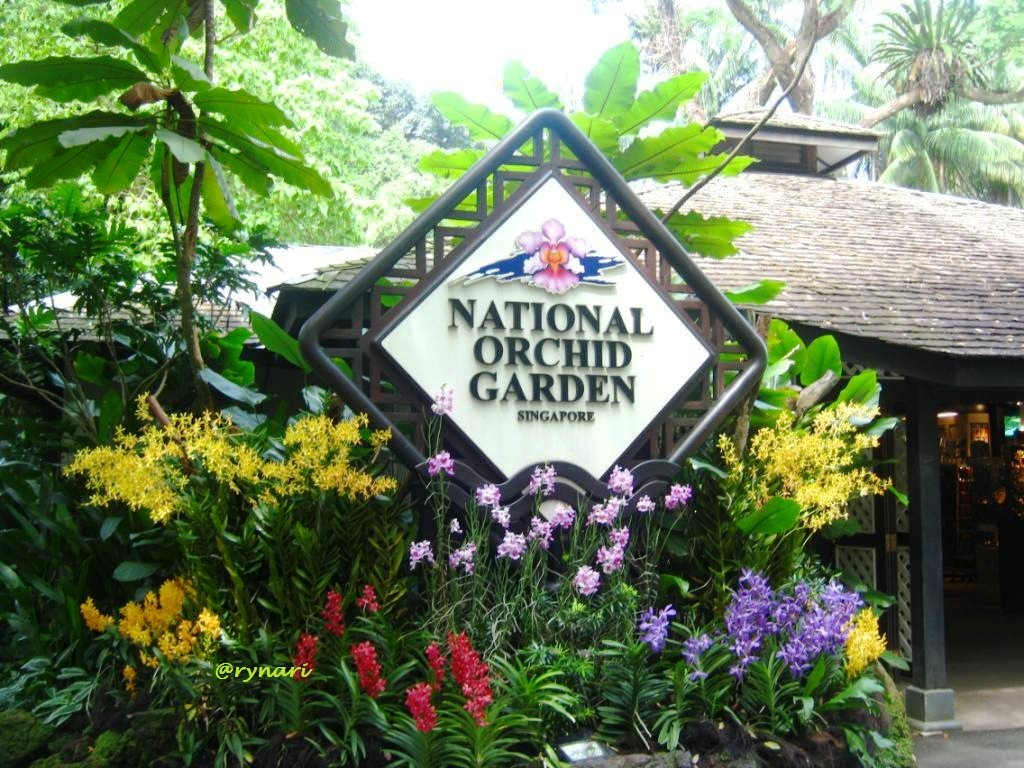 Taman Anggrek Ramah Pengunjung Rynari