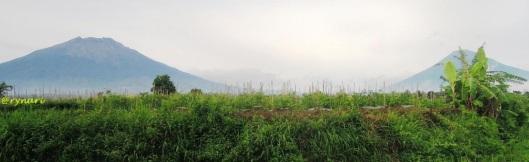 Sumbing (ki) - Sindoro (ka) dari Secang
